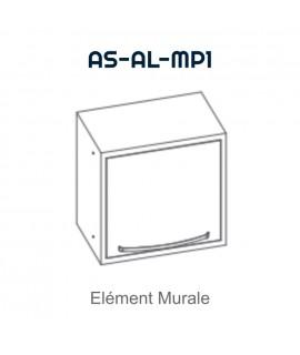 Element mural avec 1 porte