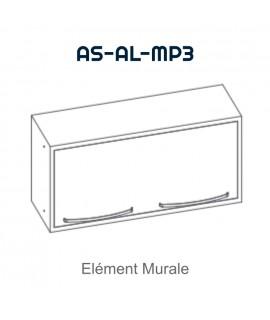 Element mural double avec porte